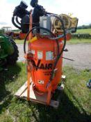 DEVAIR VAVV5062-41M INDUSTRIAL UPRIGHT AIR COMPRESSOR 15 HP 3 PH 200V