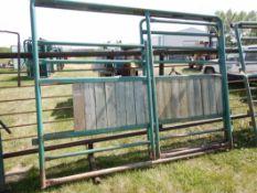 MORAND 10 FT HD BUFFALO FRAME PANEL & 5 FT ROLLING GATE