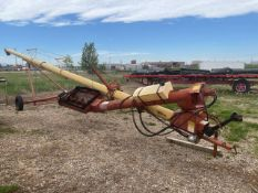 WESTFEILD TR100-51 PTO GRAIN AUGER W/ HYDRUALIC TR100 INTAKE HOPPER, CABLE WINCH ADJUSTMENT, 51FT