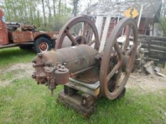 FAIRBANKS MORSE 20 HP. STATIONARY ENG. (PROJECT)