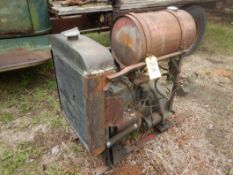 WAUKESHA FH-4 ENGINE POWER UNIT W/TWIN DISC CLUTCH (RUNNING, WILL FIT WATER WELL UNIT)