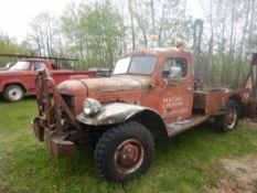 1946 DODGE 4X4 POWER WAGON NO-ENGINE S/N 83942628 MODEL C1-PW6-126