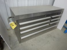 QUALITY-CRAFT STAINLESS 7- DRAWER MECHANICS TOOL CHEST