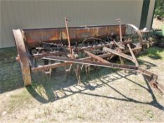 VINTAGE 10 FT PRESS SEED DRILL