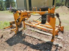 WESTERN SIDE BOOM ATTACHMENT W/WINCH TO FIT JD 450 CRAWLER (CRAWLER NOT INCLUDED)