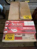 CASE OF ARCTEC 222 LOW ALLOY WELDING ROD ETC