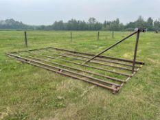 BALE RACK FOR FLAT DECK - Located at Montgomery Auction Services Sales Centre