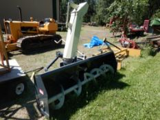 FARM KING / ALLIED 8420 HD 3PT SNOWBLOWER - 84 INCH , 2 STAGE, 540 PTO S/N 840017011