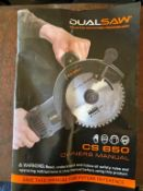DUAL SAW CS650 DESTROYER USED 1 TIME