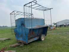 CREEP FEEDER - Located at Montgomery Auction Services Sales Centre