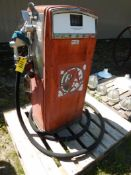 VINTAGE GAS BOY #53 GAS STATION FUEL PUMP S/N 1221 (SAID TO BE WORKING GOOD)