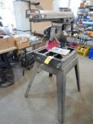 """CRAFTSMAN 10"""" RADIAL ARM SAW & STAND -2HP (RECENT NEW MOTOR)"""
