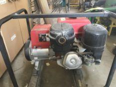 HONDA EZ 5000W GEN SET W/ CASTORS - 120/240V