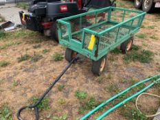 LANDSCAPERS/GREEN HOUSE WAGON W/ FOLD DOWN SIDES (PUMP NOT INCLUDED)