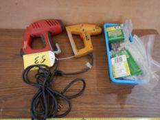 ARROW ELECTRIC STAPLER & STAPLES, STANLEY BOSTICH EHS300BL ELECTRIC STAPLER