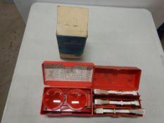 VINTAGE FORD REFLECTOR KIT C5AZ-19E500 -D (NOS), VINTAGE REFLECTOR KIT - USED