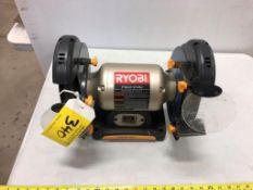 RYOBI 8 INCH BENCH GRINDER