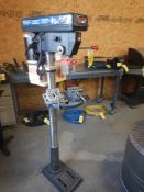 CLARKE METALWORKER PEDESTAL DRILL PRESS W/ LASER CENTERING DEVICE