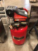 SNAP-ON 20 GAL. PEDESTAL ELECTRIC AIR COMPRESSOR