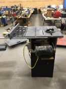 """ROCKWELL/BEAVER 9"""" TABLE SAW W/ 1HP MOTOR"""