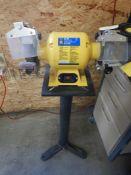 POWER FIST 6IN 1/2HP BENCH GRINDER ON PEDESTAL STAND