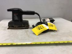 B&D FINISH SANDER 1/3HP, PORTER CABLE 1/2 INCH AIR IMPACT