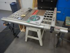 10IN TABLE SAW W/ ALIGN-A-RIP ADJUSTABLE FENCE, 3HP MOTOR