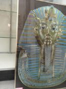 """PICTURE KING TUT 33""""X23"""" PICTURE """"THE THIN RED LINE"""" 24""""X16"""""""