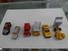 6 MAJORETTE CARS & TRUCKS