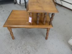 """MCM MAPLE STEP TABLE 24""""H 16""""W 26""""D"""