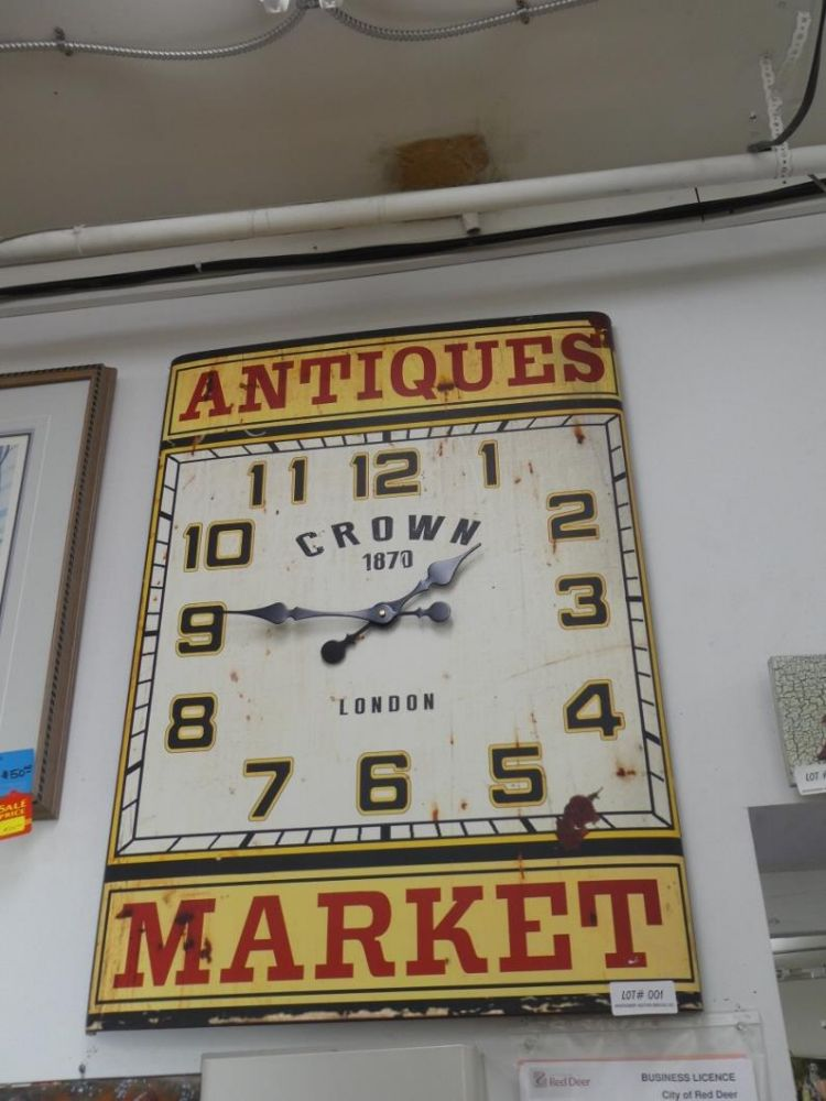 RED DEER ANTIQUE MALL INC. DISPERSAL - Day 1 of 2