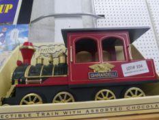 GHIRARDELLI CHOCOLATR WOODEN TRAIN ENGINE