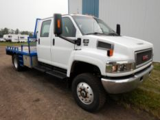 2006 GMC TOP KICK C5500 4X4 CREW CAB, DURAMAX DIESEL, AUTO ALLISON TRANSMISION, 278,692 KM'S SHOWING