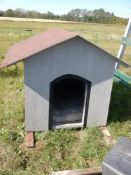 "INSULATED DOG HOUSE, 42"" X 60"""