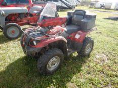 2007 YAMAHA KODIAK 450LE 4X4 ATV W/WINCH & RACKS S/N 5Y4AJ25W67A300891