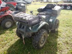 2004 YAMAHA KODIAK 450 4X4 ATV W/WINCH & RACKS S/N 5Y4AJ06W94A306490