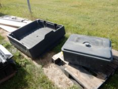 POLY CARGO BOX TO FIT YAMAHA ATV, TOOL CARRIER
