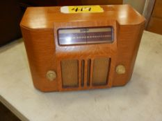 DEFOREST VINTAGE ELECTRIC RADIO, S/N 610753