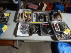 SANDING PADS, AIR FITTINGS, ELECTRIC PAD SANDERS, ELECTRIC ANIMAL CLIPPERS, VET ITEMS, ETC