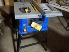 MASTERCRAFT TABLE SAW W/HD STEEL STAND