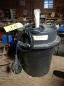 SELF CONTAINED SUMP PUMP W/5 GAL TANK, 1.6 HP PUMP MODEL WRS-5 (UNUSED)