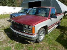 1988 GMC SIERRA SLE PU TRUCK AT/5.7-V8,LB,RC, 460040 KM SHOWINGS/N 2GTDC14K71513987