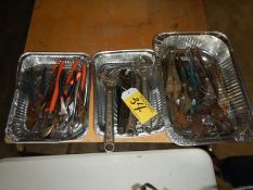 L/O PLYERS, CRESCENT WRENCHES, WATER PUMP PLYERS, FENCING PLYERS, ETC