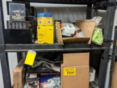 L/O ASSORTED TRUCK AND AUTOMOTIVE PARTS (SHELVES NOT INCLUDED)