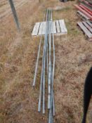 L/O GALVANIZED PIPE FOR CHAIN LINK FENCE TOP RAIL
