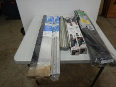 L/O PIPE INSULATION, 2-LED 24IN STRIP LIGHT, METAL TRAY, DOOR THRESHOLDS, ETC.