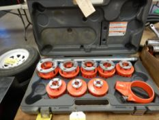 RIDGID PIPE THREADER SET - 1/8IN TO 2IN