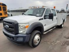 2011 FORD F450 DUALLY 4X4 SERVICE TRUCK
