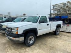 2005 CHEVROLET 2500 PICK UP TRUCK