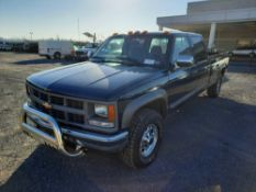 1998 CHEVROLET K3500 4X4 CREW CAB PICK UP TRUCK